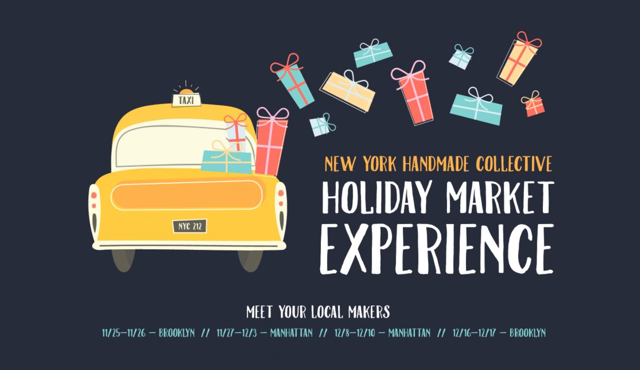 New York Handmade Collective Holiday Market Experience