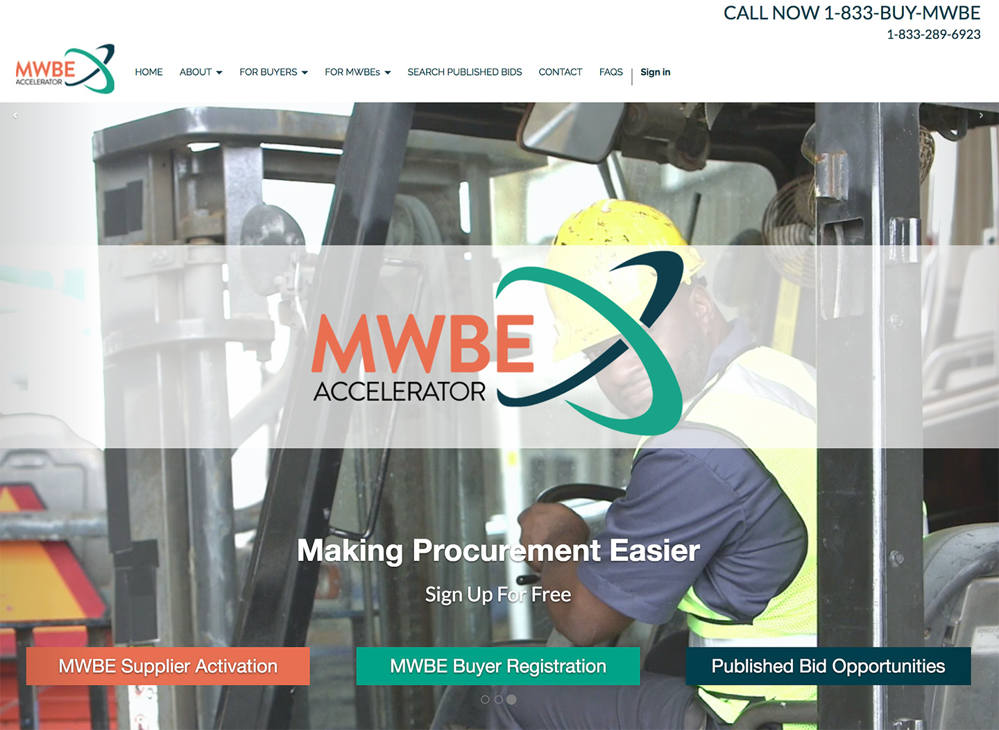 Harlem Commonwealth Council MWBE Accelerator: MWBE Accelerator Homepage