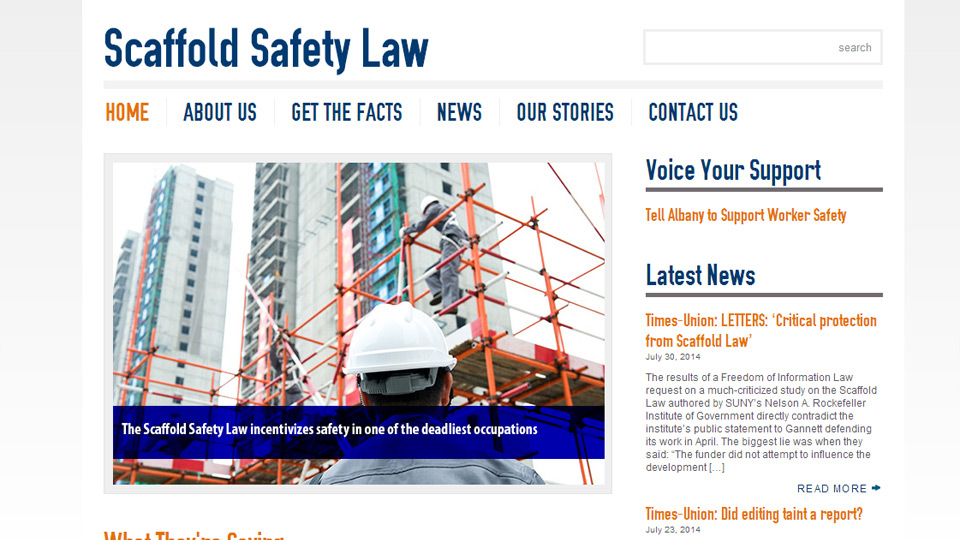 Scaffold Safety Law
