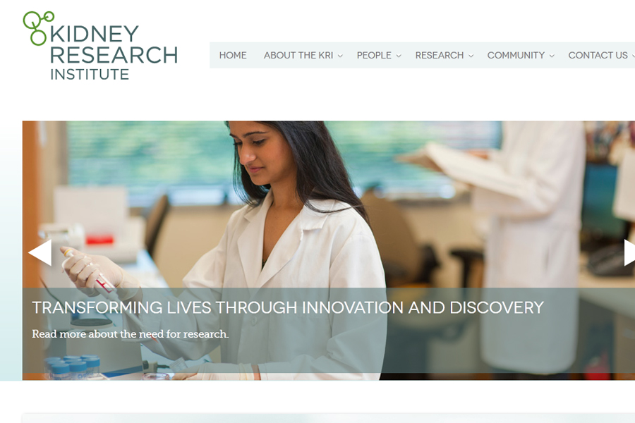 Kidneys Rejoice as Kidney Research Insitute at the University of Washington Launches New Website