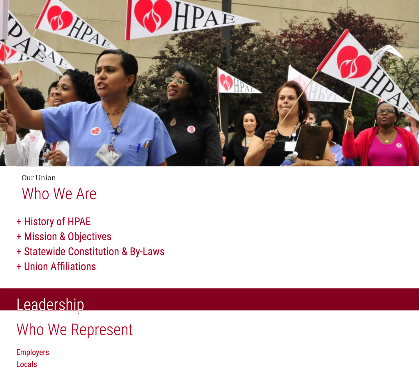 HPAE - Health Professionals and Allied Employees: Who We Are