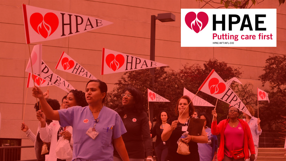 HPAE - Health Professionals and Allied Employees