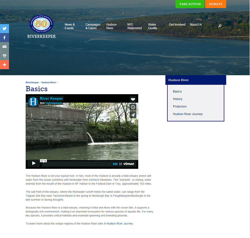 Riverkeeper: Video Embed