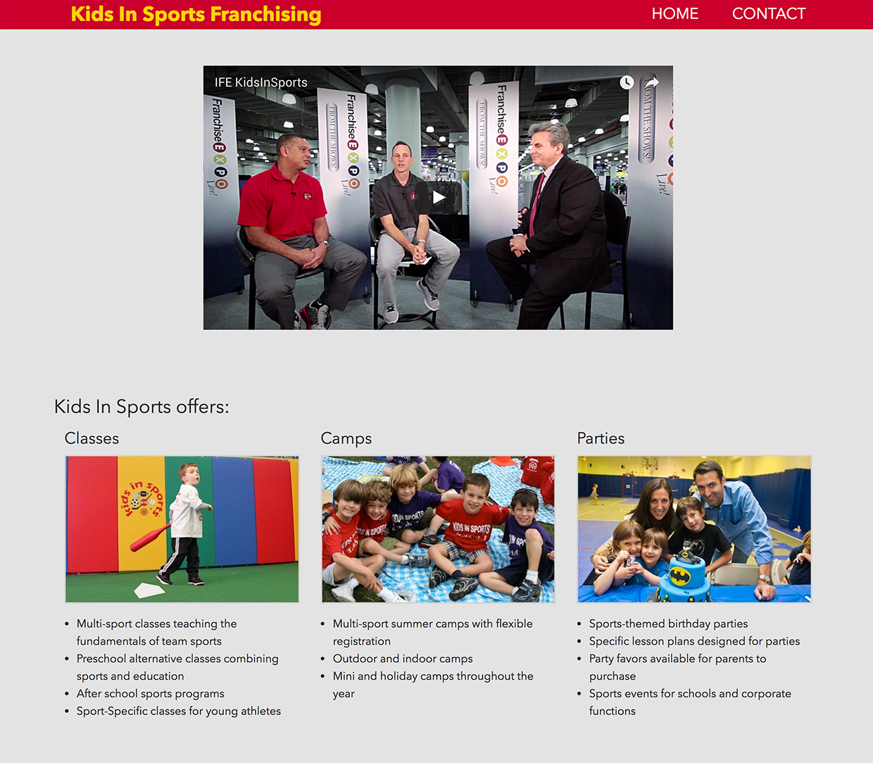 Kids In Sports: Kids in Sports Franchising