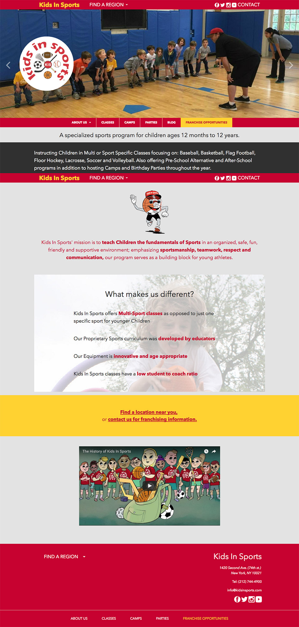 Kids In Sports: Full Kids In Sports Homepage