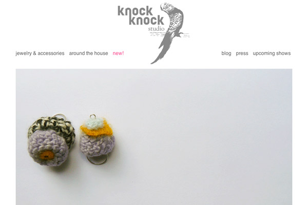 Knock Knock Studio Homepage