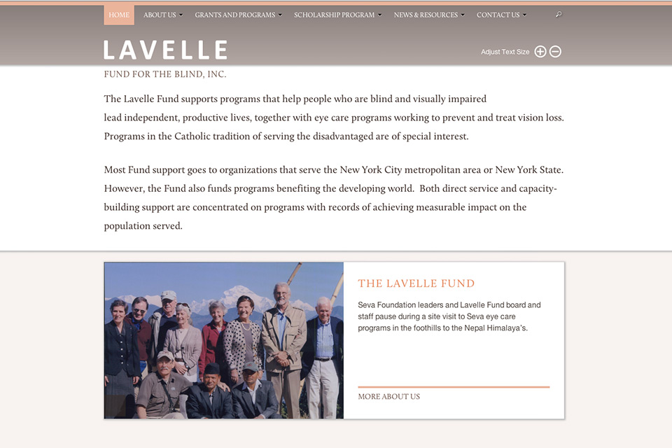 The Lavelle Fund re-launches with an information rich, accessible website
