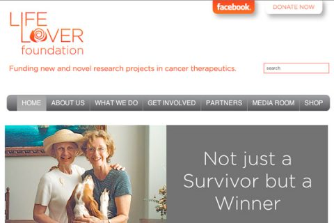 Life Lover Foundation Homepage