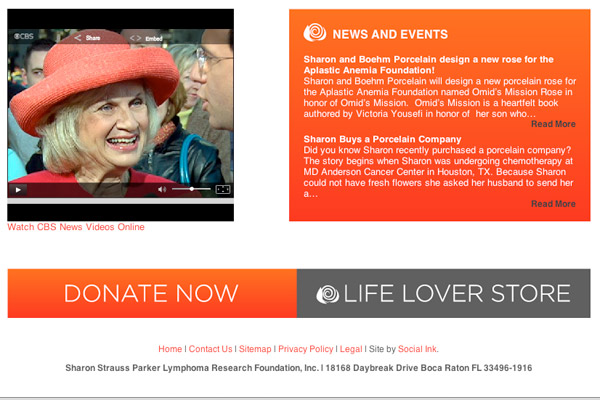 Life Lover Foundation Video and Donate