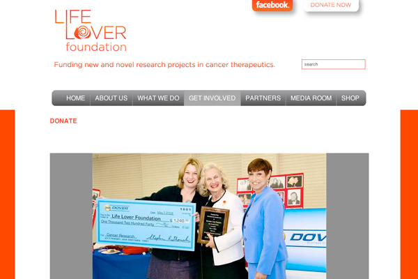 Life Lover Foundation: Life Lover Foundation Get Involved
