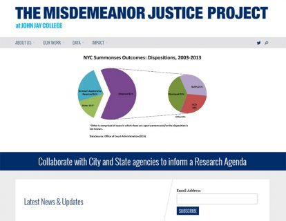 Misdemeanor Justice Project Homepage