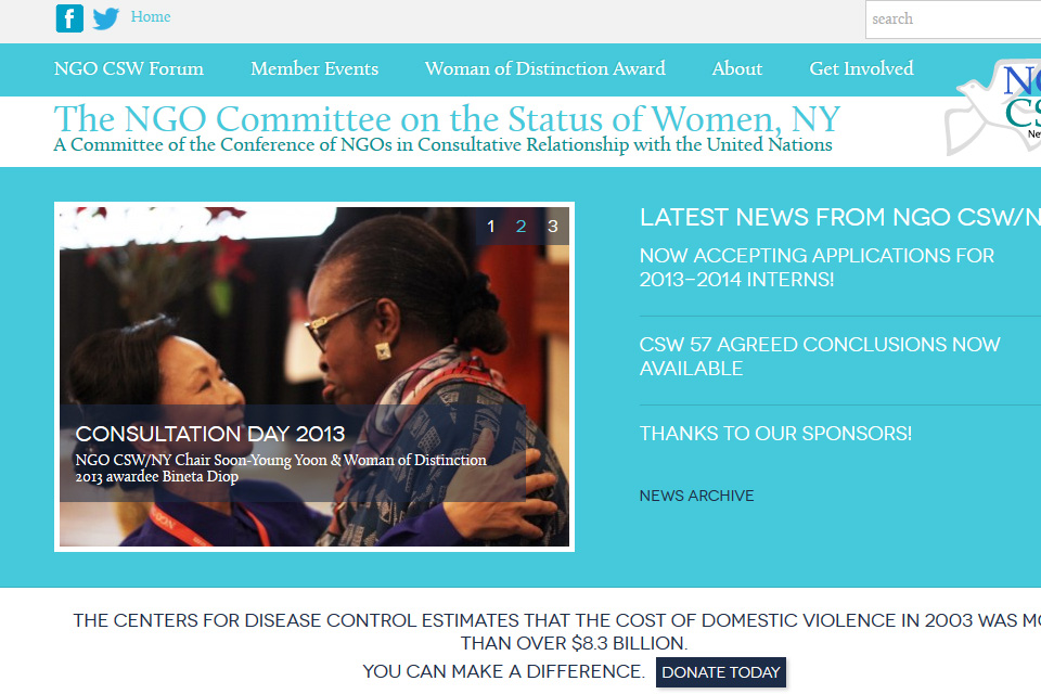 NGO Committee on the Status of Women