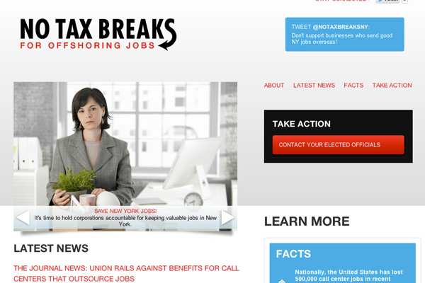No Tax Breaks NY / NJ Launch!