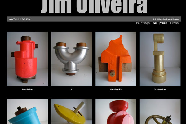 Jim Oliveira Sculpture