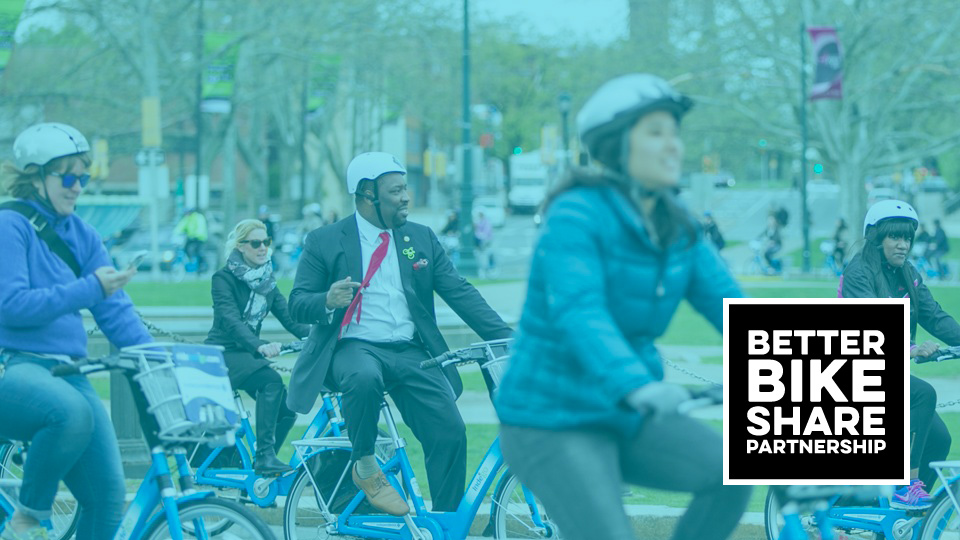 Our work with Better Bike Share Partnership by Social Ink