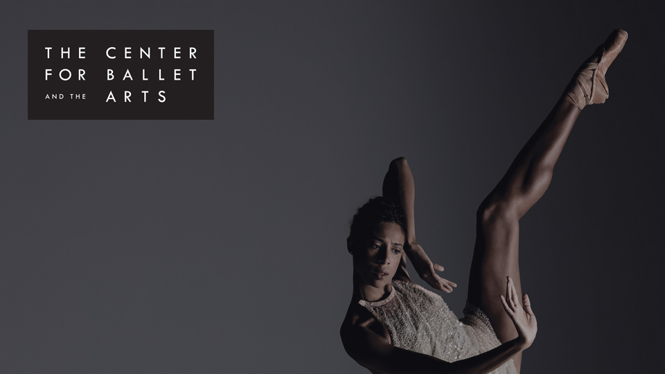 Our work with NYU's Center for Ballet and the Arts by Social Ink