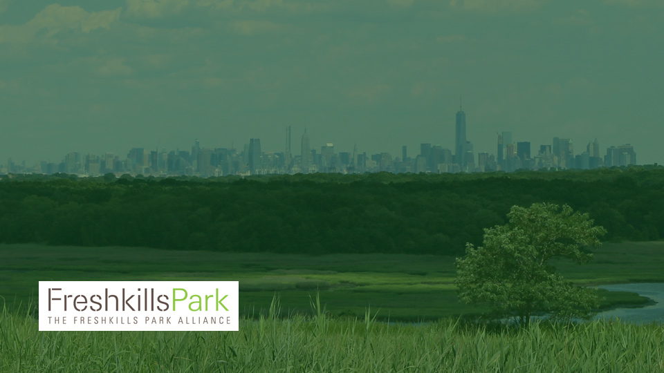 Our work with Freshkills Park Alliance by Social Ink