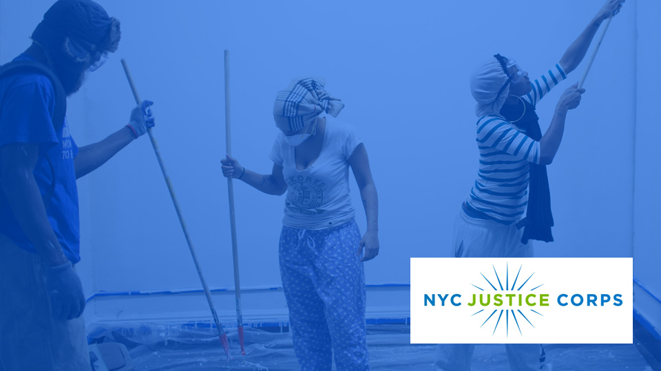Our work with NYC Justice Corps by Social Ink