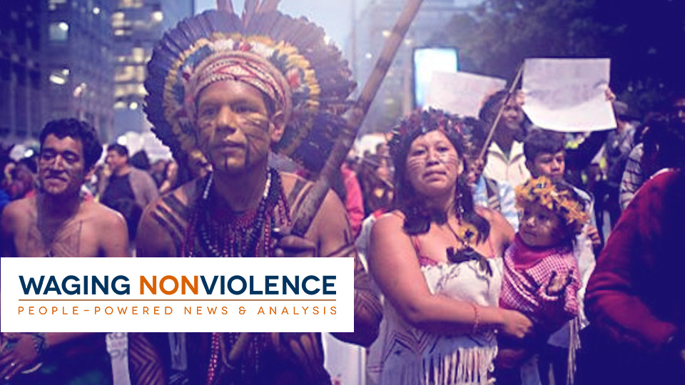Our work with Waging Nonviolence by Social Ink