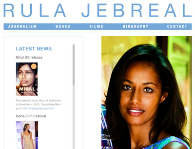 rulajebreal.net launches - Congrats to Rula Jebreal!