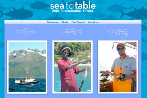Sea to Table Homepage