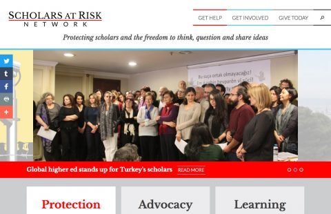 Scholars at Risk Homepage