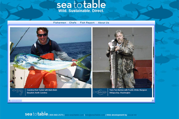 Sea to Table: Sea to Table meet the fishermen