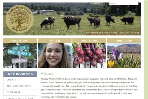 Smokey House Center Homepage