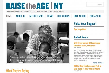 Raise the Age New York - Homepage