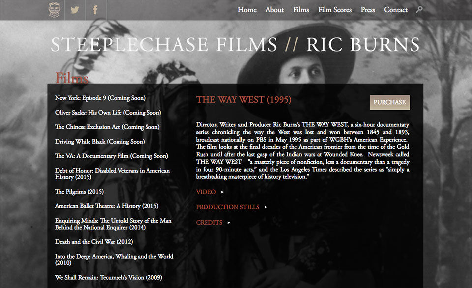 Steeplechase Films: Film Catalog
