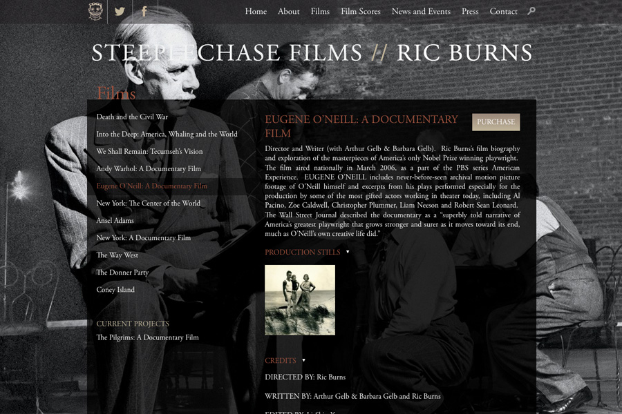 Steeplechase Films and Ric Burns Launch New Website as Death and the Civil War Premiers on PBS