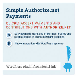 Simple Authorize.net Payments