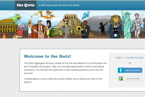 The Qwiz Home Page