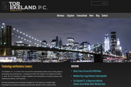 Tor Ekeland PC Homepage