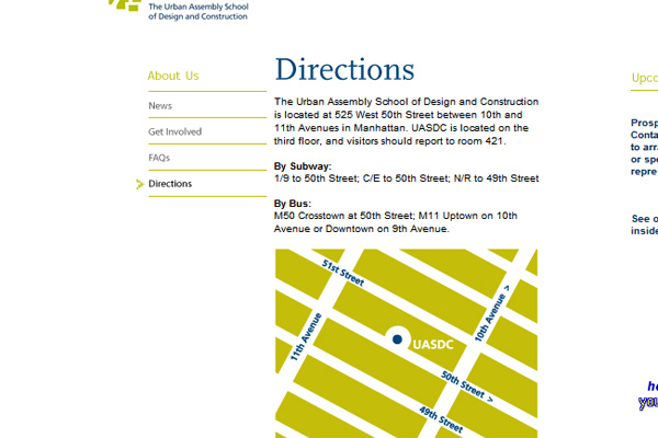 UASDC Contact and Maps