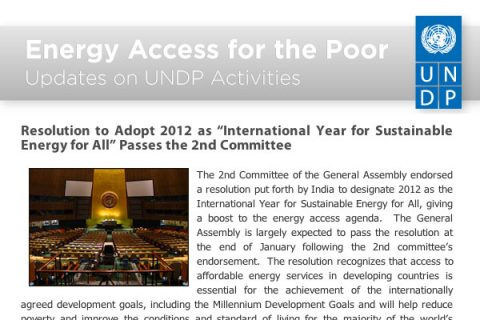 United Nations Development Programme Email Newsletter