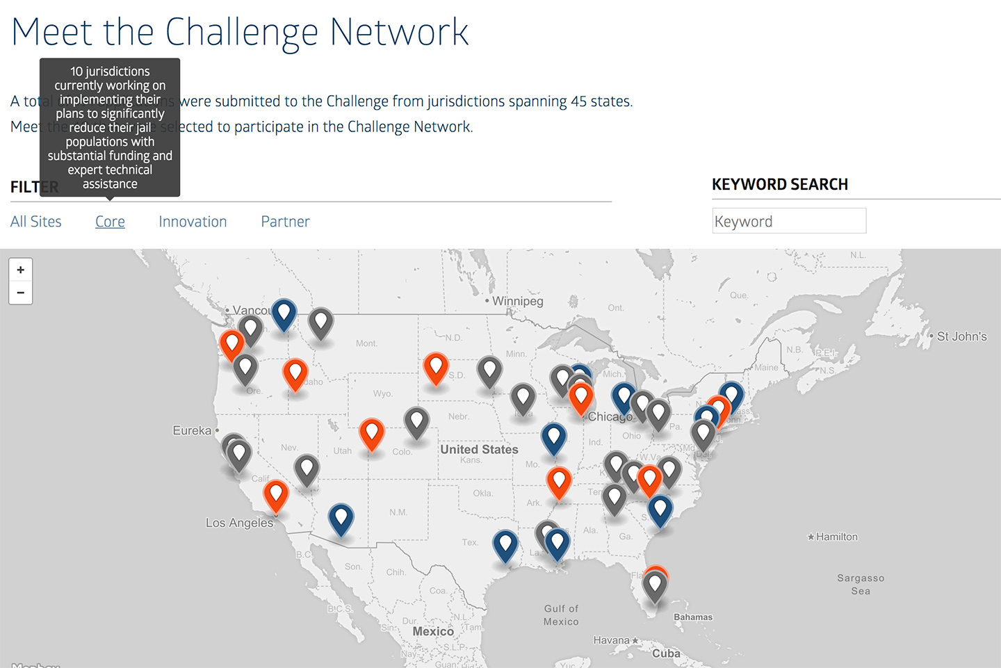 MacArthur Foundation Safety and Justice Challenge New Site