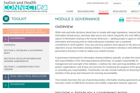 Justice and Health Connect Toolkit - Social Ink