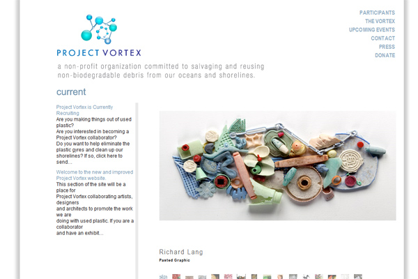 Project Vortex Homepage