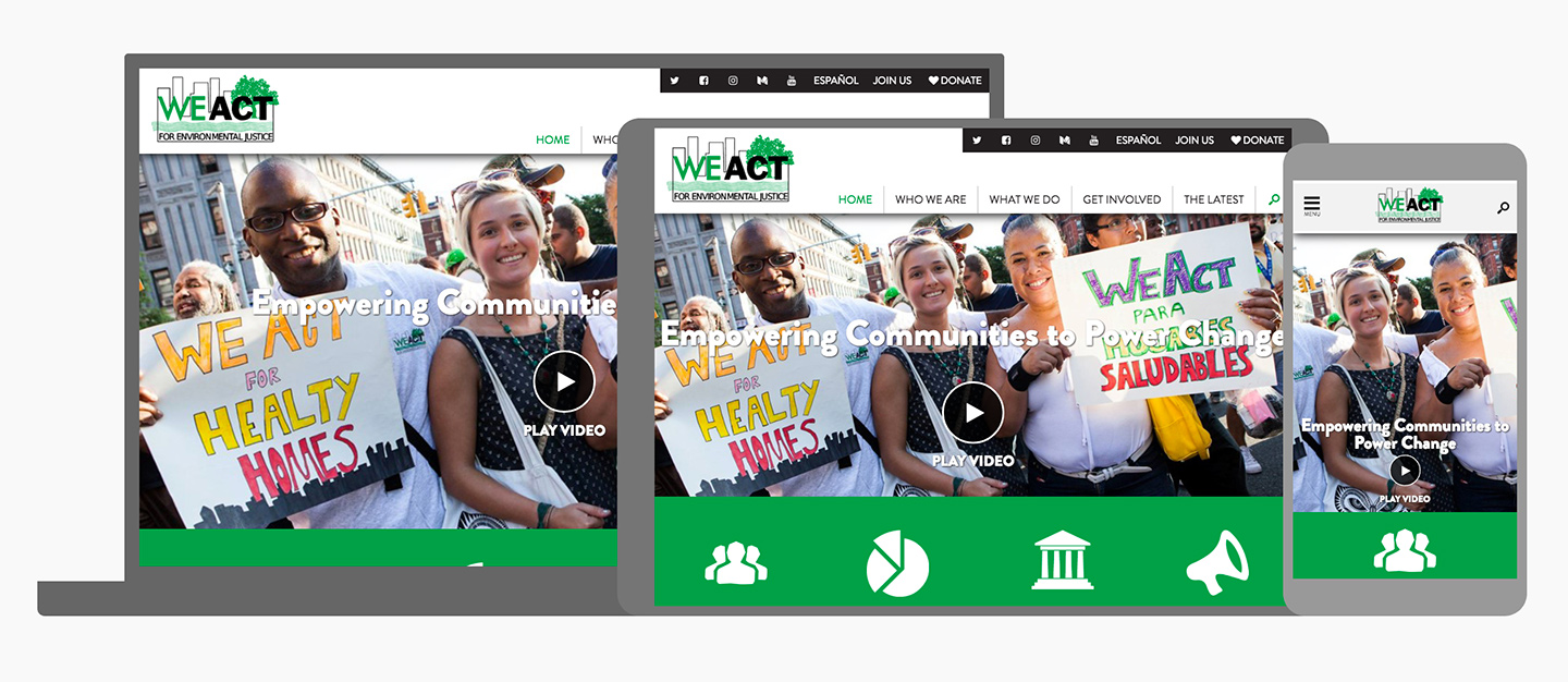 West Harlem Environmental Action, Inc.: WEACT Responsive Design