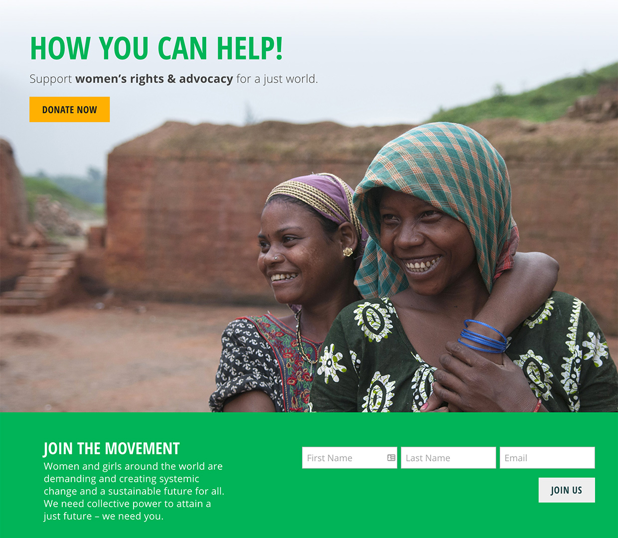 Women's Environment & Development Organization (WEDO): WEDO How Can We Help