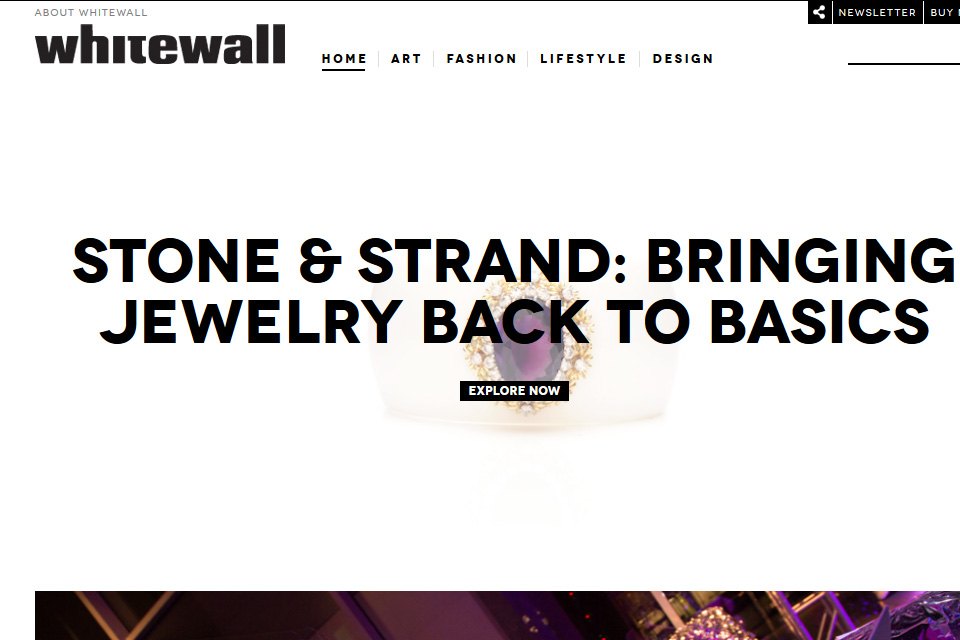 Whitewall Magazine Launches