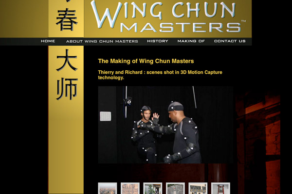 Wing Chun Masters: Wing Chun Masters Making of Slideshow